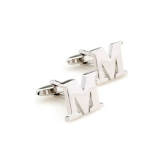 "Monogram / Betű mandzsettagombok ""M"""