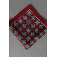 Díszzsebkendő (bordó)